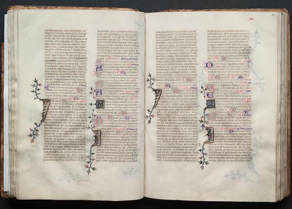 Circa 14th Century「The Gotha Missal: Fol. 41V」:写真・画像(11)[壁紙.com]