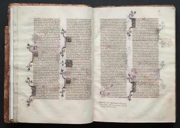 Circa 14th Century「The Gotha Missal: Fol. 22R」:写真・画像(1)[壁紙.com]