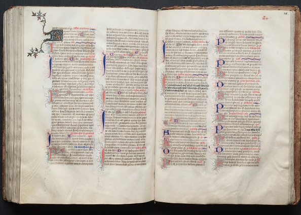 Circa 14th Century「The Gotha Missal: Fol. 140V」:写真・画像(4)[壁紙.com]