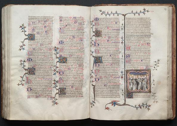 Circa 14th Century「The Gotha Missal: Fol. 127R」:写真・画像(3)[壁紙.com]