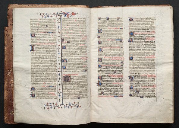 Circa 14th Century「The Gotha Missal: Fol. 2V」:写真・画像(10)[壁紙.com]