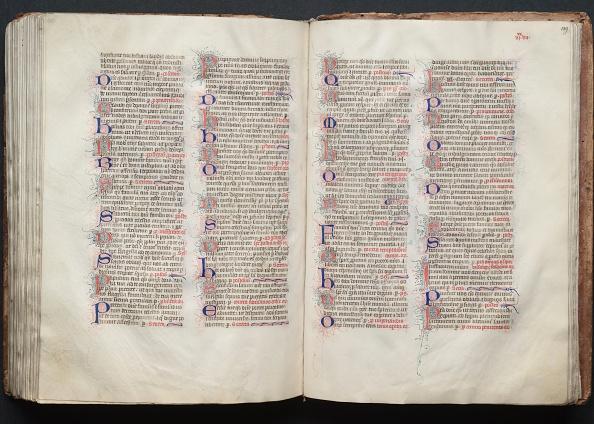 Circa 14th Century「The Gotha Missal: Fol. 139R」:写真・画像(3)[壁紙.com]