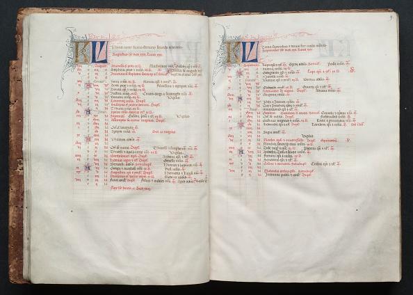 Circa 14th Century「The Gotha Missal: Fol. 9R」:写真・画像(14)[壁紙.com]