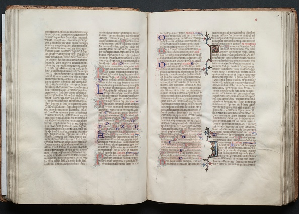 Circa 14th Century「The Gotha Missal: Fol. 49V」:写真・画像(14)[壁紙.com]