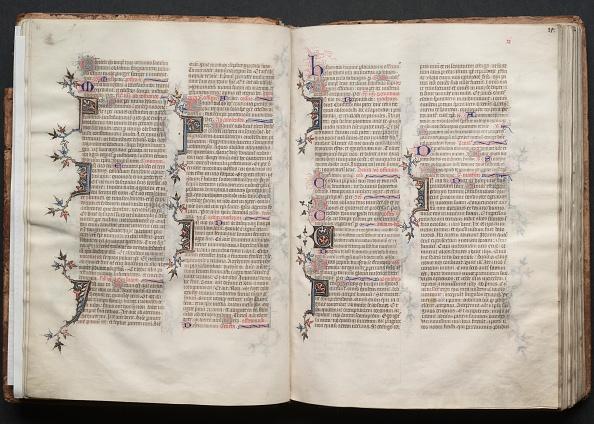 Circa 14th Century「The Gotha Missal: Fol. 21R」:写真・画像(8)[壁紙.com]