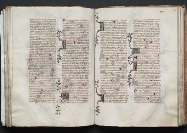 Circa 14th Century「The Gotha Missal: Fol. 80R」:写真・画像(1)[壁紙.com]