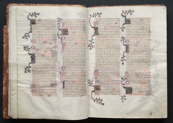 Circa 14th Century「The Gotha Missal: Fol. 12V」:写真・画像(1)[壁紙.com]