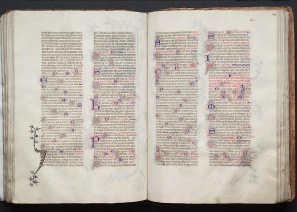 Circa 14th Century「The Gotha Missal: Fol. 104R」:写真・画像(0)[壁紙.com]