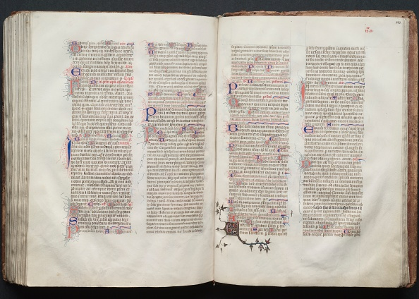 Circa 14th Century「The Gotha Missal: Fol. 143R」:写真・画像(19)[壁紙.com]