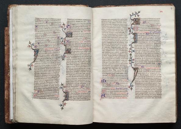 Circa 14th Century「The Gotha Missal: Fol. 26V」:写真・画像(2)[壁紙.com]
