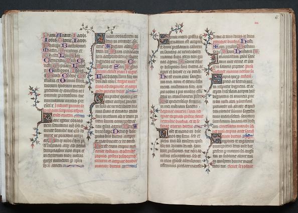 Circa 14th Century「The Gotha Missal: Fol. 65V」:写真・画像(9)[壁紙.com]