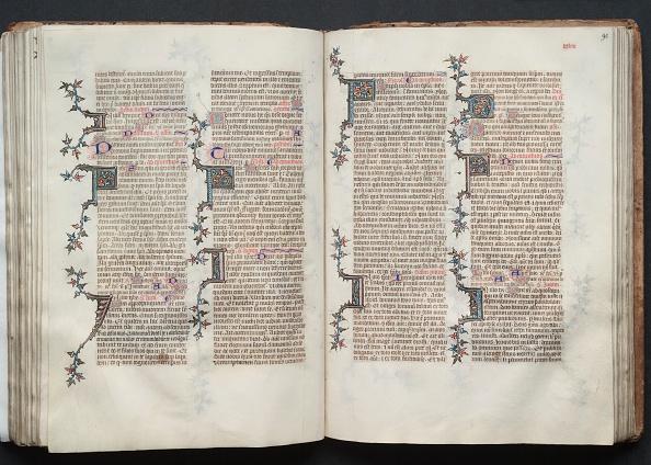 Circa 14th Century「The Gotha Missal: Fol. 90R」:写真・画像(19)[壁紙.com]