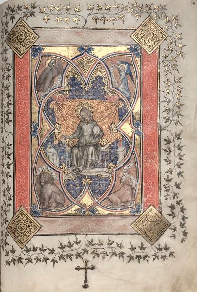 Circa 14th Century「The Gotha Missal: Fol. 64R」:写真・画像(7)[壁紙.com]