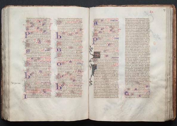 Circa 14th Century「The Gotha Missal: Fol. 106V」:写真・画像(19)[壁紙.com]