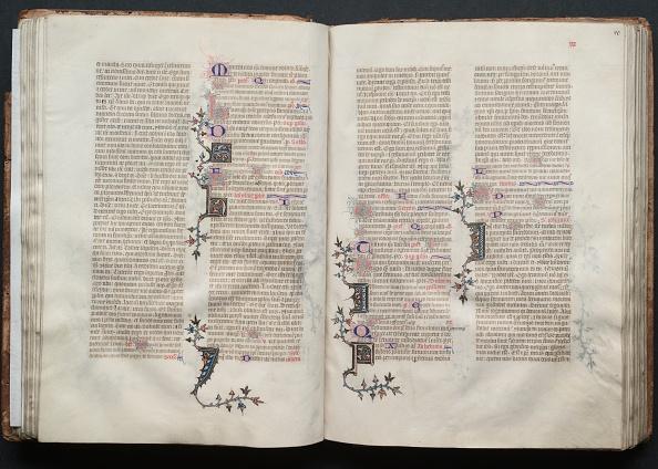 Circa 14th Century「The Gotha Missal: Fol. 39V」:写真・画像(7)[壁紙.com]