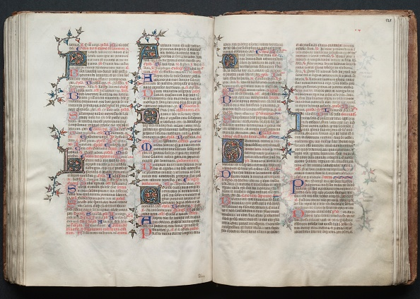 Circa 14th Century「The Gotha Missal: Fol. 120V」:写真・画像(16)[壁紙.com]