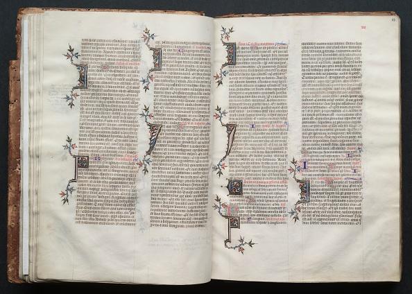 Circa 14th Century「The Gotha Missal: Fol. 23R」:写真・画像(9)[壁紙.com]