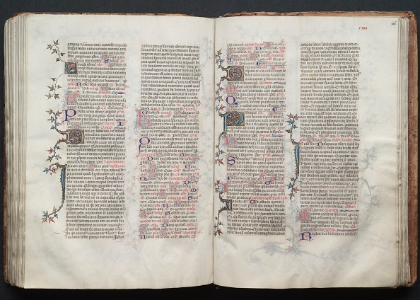 Circa 14th Century「The Gotha Missal: Fol. 125V」:写真・画像(5)[壁紙.com]