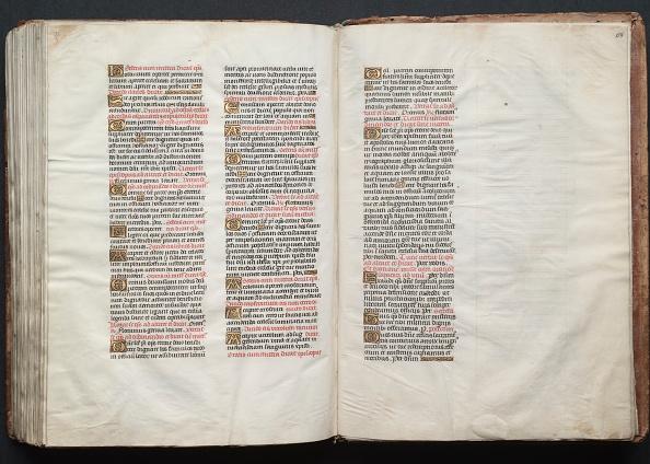 Circa 14th Century「The Gotha Missal: Fol. 158R」:写真・画像(6)[壁紙.com]
