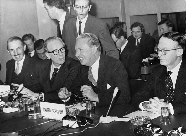 European Union「Common Market Meeting in Brussels, 1961」:写真・画像(18)[壁紙.com]