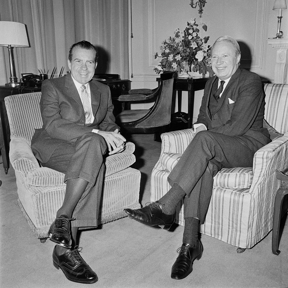 US President「Nixon And Heath」:写真・画像(2)[壁紙.com]