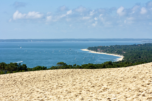 Nouvelle-Aquitaine「The Dune of Pyla at the beautiful Bassin dArcachon」:スマホ壁紙(15)
