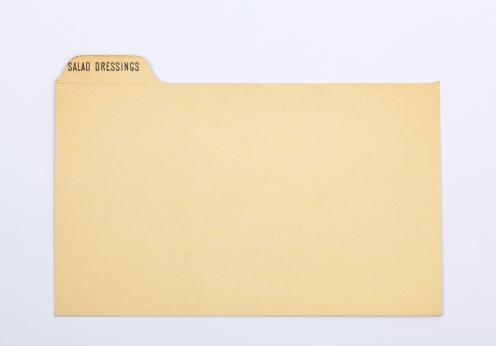 Vinaigrette Dressing「Antique Salad Dressng Index Recipe & Old Fashioned Card, Paper Background」:スマホ壁紙(16)