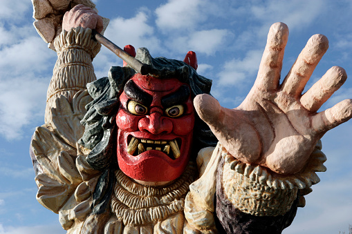 Matsuri「The statue of Namahage」:スマホ壁紙(13)