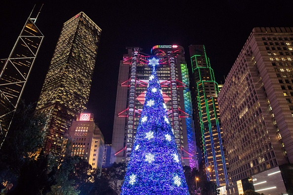 Christmas Decoration「2018 Hong Kong Pulse Light Festival」:写真・画像(19)[壁紙.com]