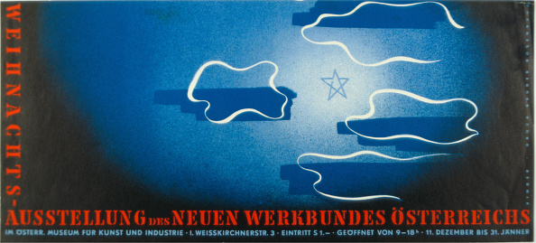 Chromolithograph「Poster Of The Christmas Exhibition Of New Work Federation Austria」:写真・画像(17)[壁紙.com]