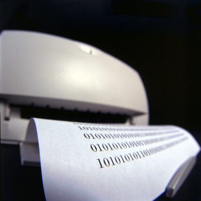 Zero「Printer copying page of numbers」:スマホ壁紙(8)