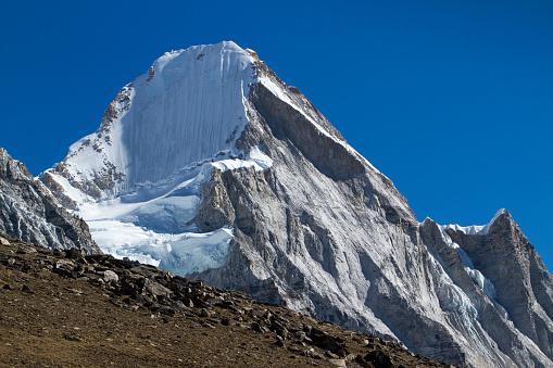 Khumbu「Mount Lingtren in Nepal Himalayas」:スマホ壁紙(9)