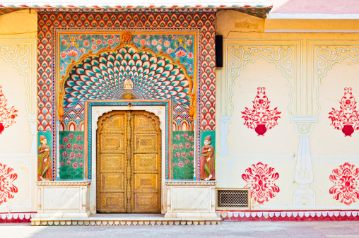 Palace「Lotus Gate - Pitam Niwas Chowk , City Palace Jaipur」:スマホ壁紙(9)