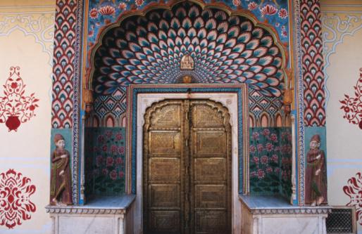 Fretwork「Lotus Gate in Pitam Niwas Chowk in City Palace.」:スマホ壁紙(14)