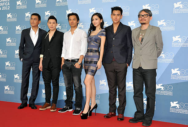 """Tai Chi O"" Photocall - The 69th Venice Film Festival:ニュース(壁紙.com)"