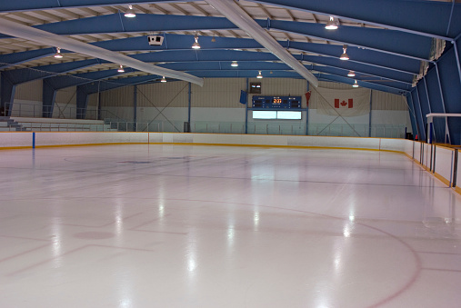 Ice Hockey Rink「Clean Ice Rink」:スマホ壁紙(1)