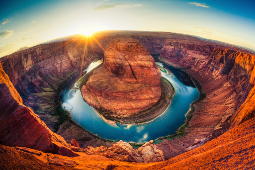 Colorado River「Horseshoe bend, Grand Canyon, USA」:スマホ壁紙(6)