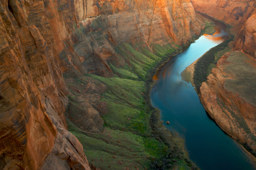 Steep「Horseshoe Bend, Colorado River, Glen Canyon, Arizona, USA」:スマホ壁紙(8)