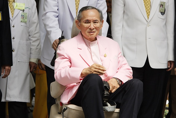 タイ王国「King Bhumibol Adulyadej Leaves Sirirjaj Hospital」:写真・画像(7)[壁紙.com]