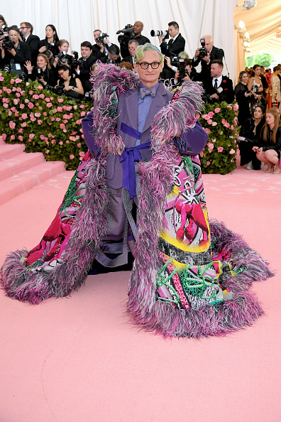 Multi Colored Coat「The 2019 Met Gala Celebrating Camp: Notes on Fashion - Arrivals」:写真・画像(2)[壁紙.com]