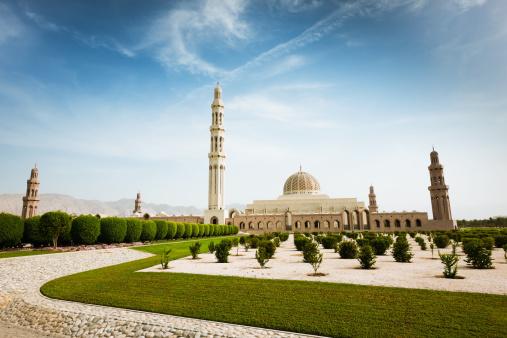 Indigenous Culture「Sultan Qaboos Grand Mosque Park Muscat Oman」:スマホ壁紙(4)