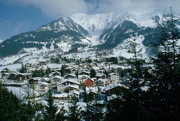風景「Klosters Ski Resort, Swiss Alps, Switzerland」:写真・画像(13)[壁紙.com]