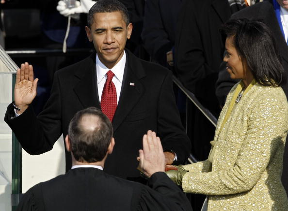 Presidential Inauguration「Barack Obama Is Sworn In As 44th President Of The United States」:写真・画像(16)[壁紙.com]