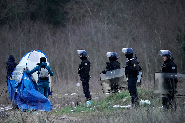 Calais「Migrants Gather Along The Northern French Coast」:写真・画像(8)[壁紙.com]