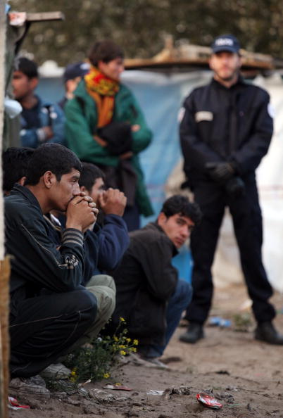 Calais「French Police Prepare To Close Down Illegal Immigrant Camps」:写真・画像(15)[壁紙.com]
