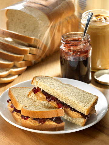 Sandwich「A photograph of a peanut butter and jelly sandwich」:スマホ壁紙(19)