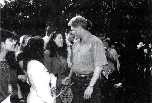 Bill Clinton「Monica Lewinsky meets with President Clinton」:写真・画像(4)[壁紙.com]