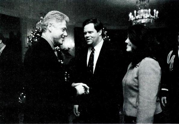 Bill Clinton「Monica Lewinsky meets with President Clinton」:写真・画像(3)[壁紙.com]