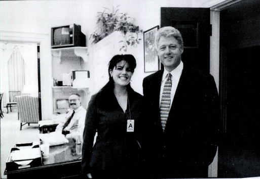 Bill Clinton「Monica Lewinsky meets with President Clinton」:写真・画像(0)[壁紙.com]