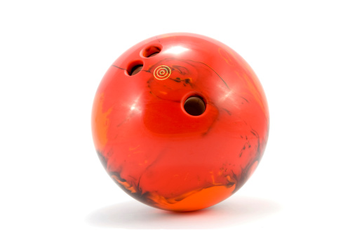 Sports Competition Format「Photograph of red marbled bowling ball」:スマホ壁紙(2)